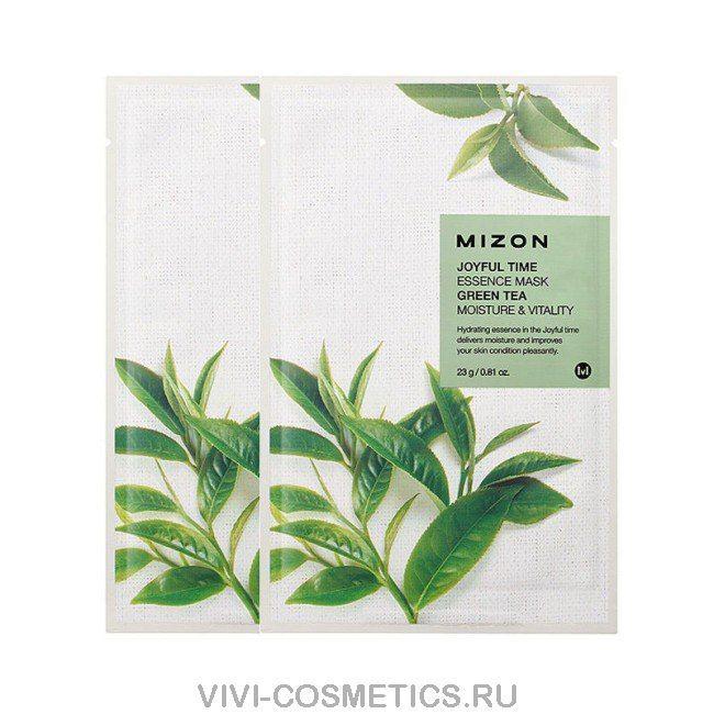 Маска с экстрактом зеленого чая MIZON