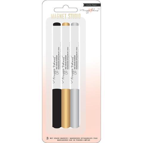 Набор маркеров Maggie Holmes Magnet Studio Wet Erase Markers- 3шт