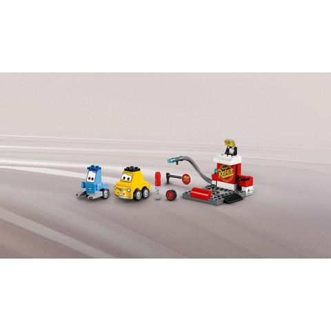 LEGO Juniors: Пит-стоп Гвидо и Луиджи 10732 — Guido and Luigi's Pit Stop — Лего Джуниорс Подростки
