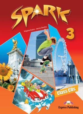 Spark 3 (Monstertrackers). Class Audio CDs (set of 3). Аудио CD (3 шт.)
