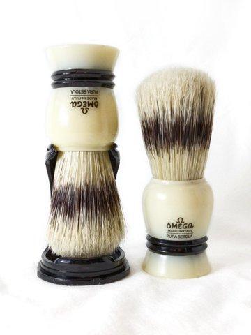 Помазок для бритья Omega натуральный кабан 80067
