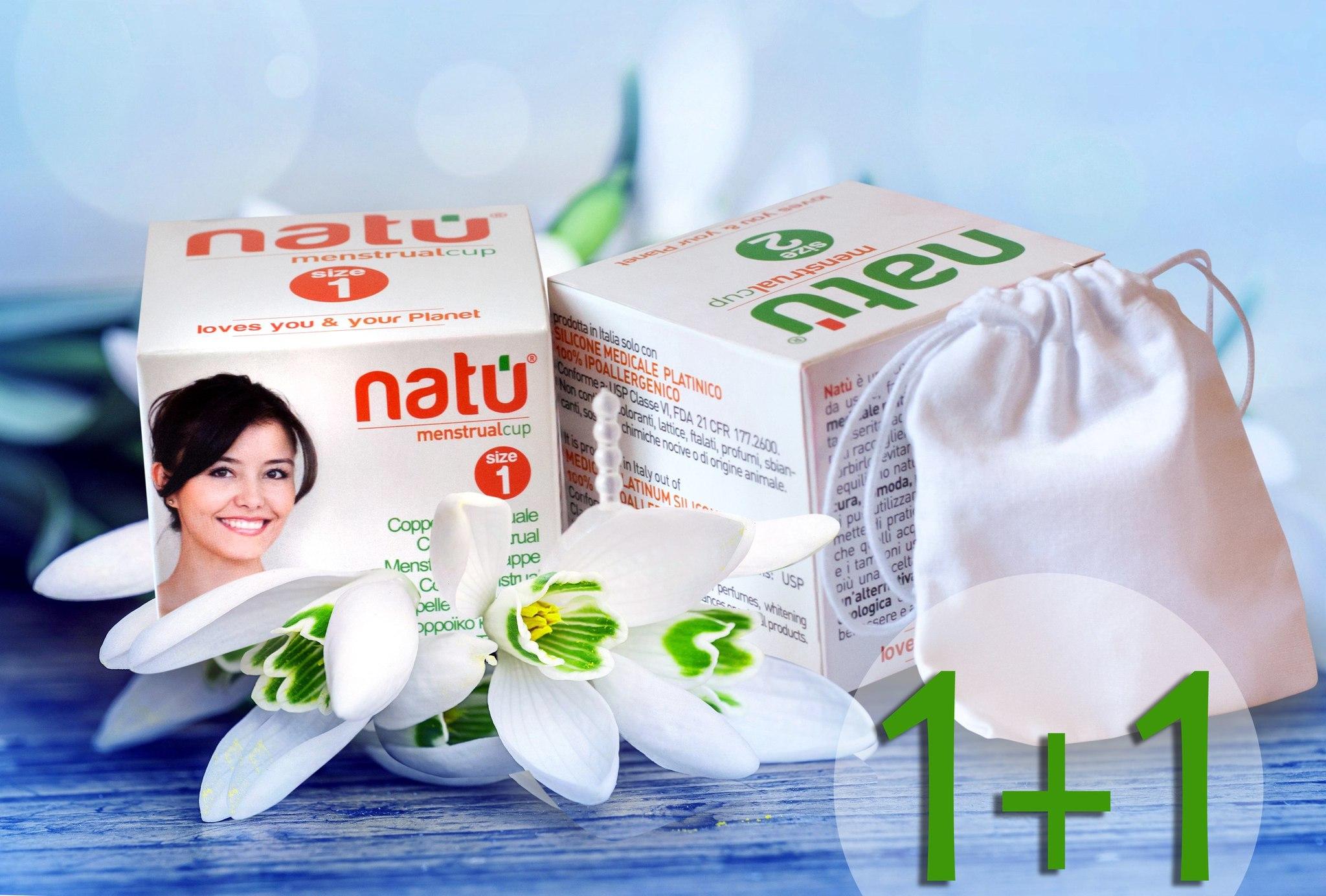 Набор менструальных чаш NATU