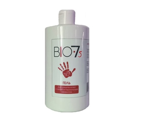 Гель-антисептик Bio7  содержание спирта 75% 700мл