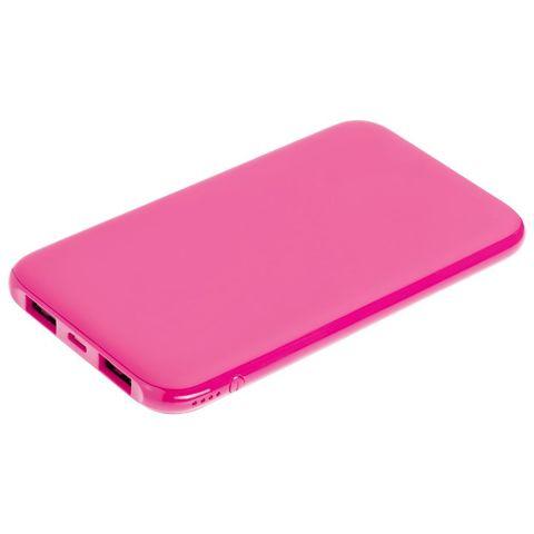 Uniscend Half Day Compact Power Bank 5000 mAh, pink