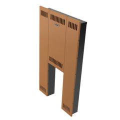 Экран фронтальный TMF Мини, стандартная дверца, терракота