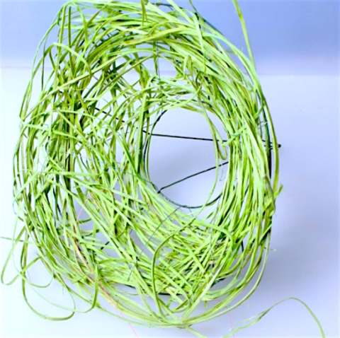 Каркас из ротанга (диаметр: 30 см) Цвет:зеленый