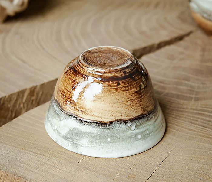 CUP101-2 Керамическая пиала для чая ручная работа, серия «Млечный Путь» фото 05