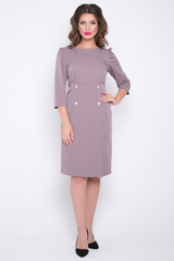 <p>Идеальное платье для повседневной носки. Удобное, комфортное и красивое. Такая модель подчеркнет Вашу талию и удлинит ноги. По спинке замок, рукав 3/4. (Длина: 46-50=100см; 52-54=102см)&nbsp;</p>