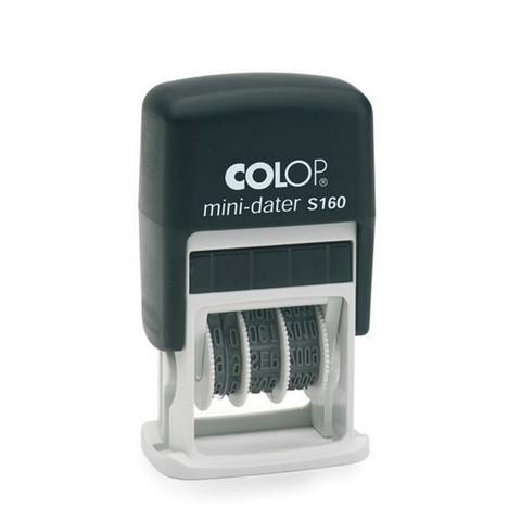 Датер автоматический пластиковый со свободным полем Colop S160 (5х25 мм, дата 3.8 мм)