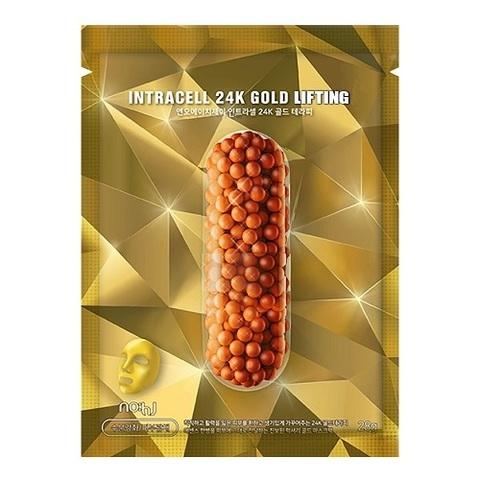 Золотая Омолаживающая Маска NO:HJ Power Foil 24K Gold Lifting Mask