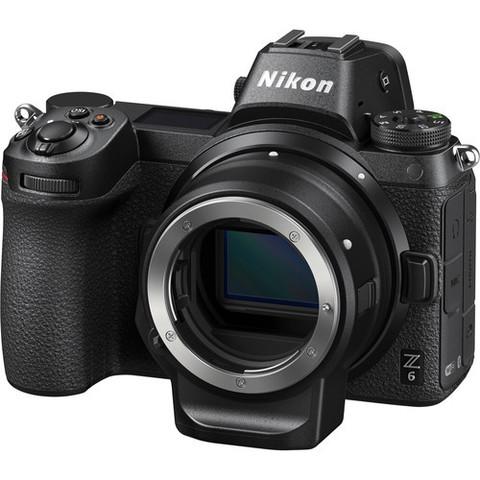 Цифровой беззеркальный фотоаппарат Nikon Z6 Body с адаптером FTZ