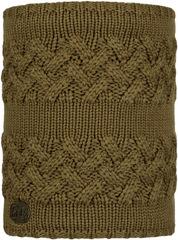 Вязаный шарф-труба с флисом Buff Neckwarmer Knitted Polar Savva Bark