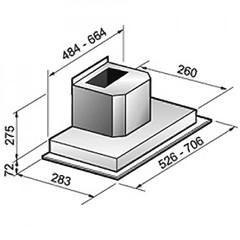 Вытяжка Korting KHI 9751 X схема
