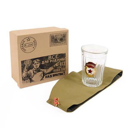 Фото - Подарочный набор с пилоткой «Посылка на фронт» фитцек с посылка роман