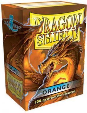 Протекторы Dragon Shield оранжевые (100 шт.)