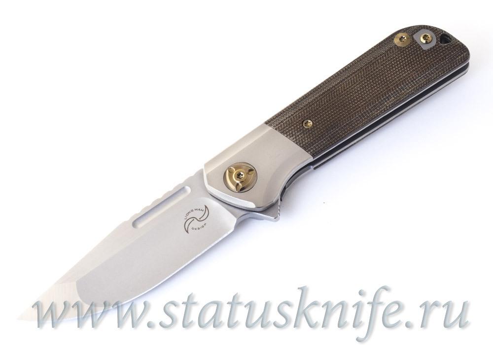 Нож Liong Mah Design Lanny Flipper Green
