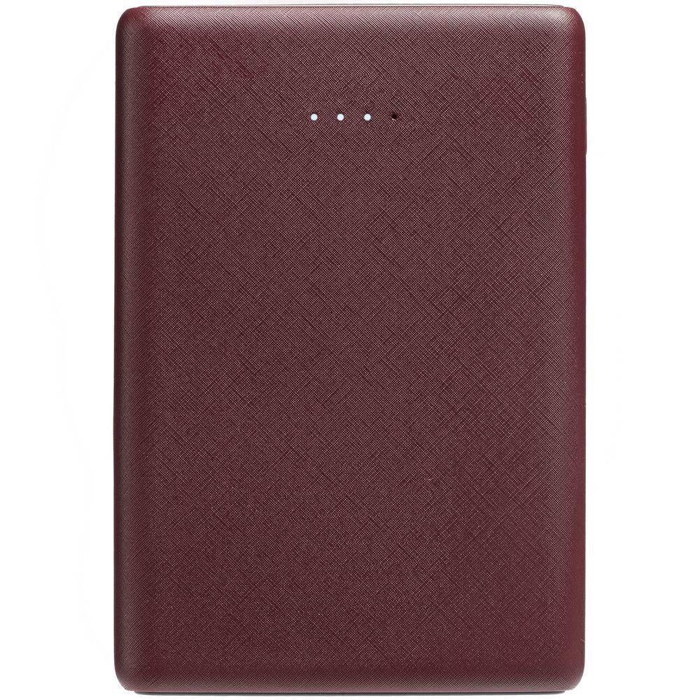Uniscend Full Feel Color Power Bank 5000 mAh, dark red