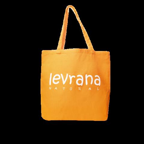 Эко-сумка оранжевая | 40x40 см | Levrana