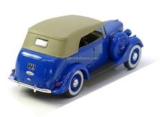 GAZ-11-40 with awning blue 1:43 Nash Avtoprom