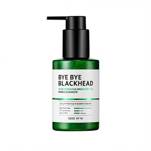 Очищение SOME BY MI Bye Bye Blackhead 30days Miracle Green Tea-Tox Bubble Cleanser 120g