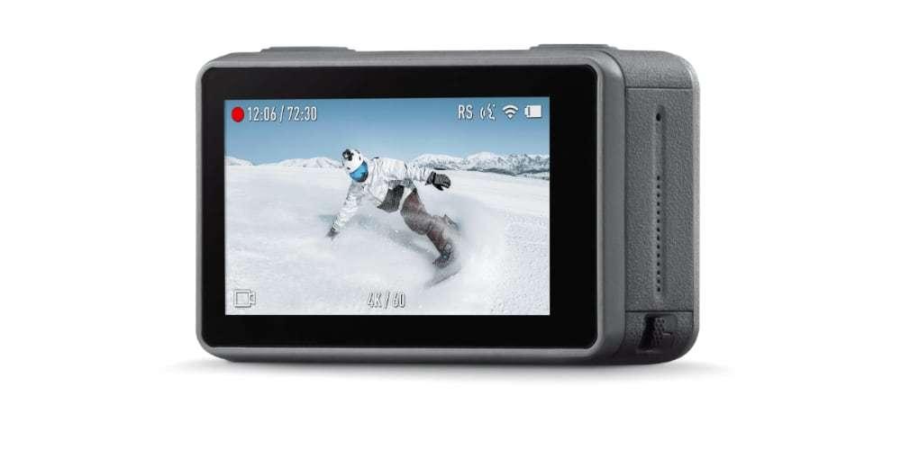 Экшн-камера DJI OSMO Action LCD экран