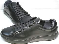 Черные сникерсы мужские GS Design 5773 Black