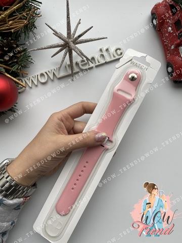 Ремешок Apple watch 38/40mm Sport Band /light pink/ розовый