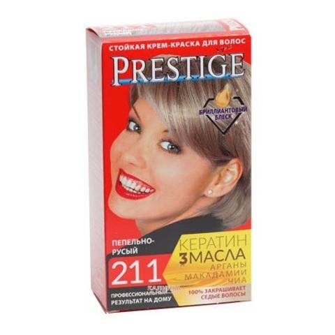 Краска для волос Prestige 211 -  Пепельно-русый