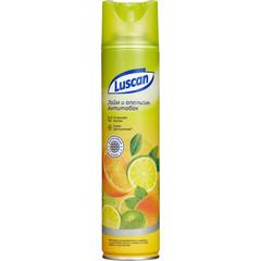 Освежитель воздуха Luscan Лайм и апельсин антитабак 300 мл (сухое распыление)