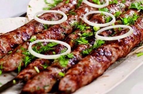 Люля-кебаб зі свинини
