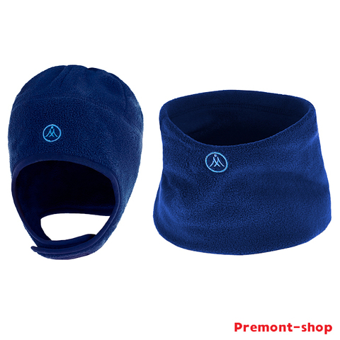 Premont Шапка и шарф-снуд W47202 Dark blue