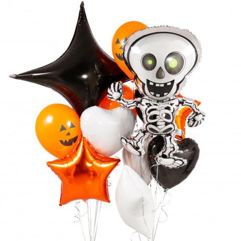 Фонтан из шаров Скелет