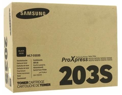 Картридж Samsung MLT-D203S (SU909A) черный