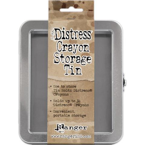 Холдер для хранения  маркеров Tim Holtz Distress Crayon Tin - Empty
