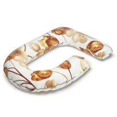 Farla. Наволочка для подушек для беременных Care G сатин Тюльпаны, вид 1