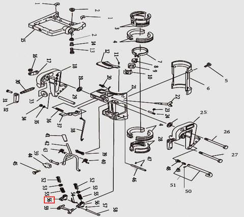 Пластина для лодочного мотора T9.8 Sea-PRO (11-56)