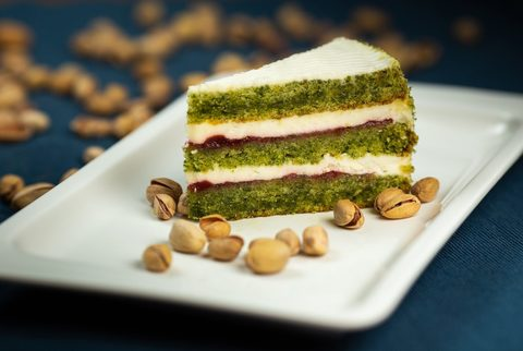 Торт бисквитный Фисташковый