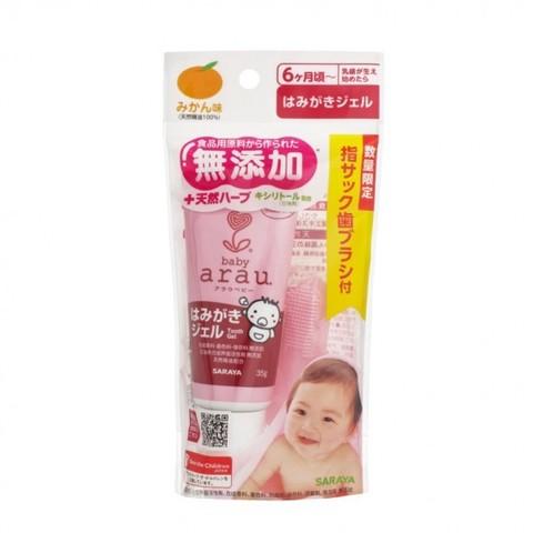 Зубная паста-гель для малышей SARAYA ARAU BABY 35 гр