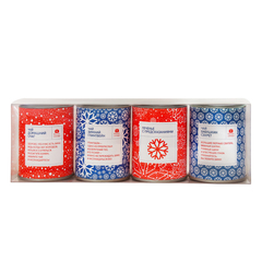 Чайный набор «Ассорти» с печеньем на Новый год