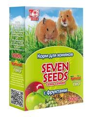 Корм для хомяков с фруктами Seven Seeds
