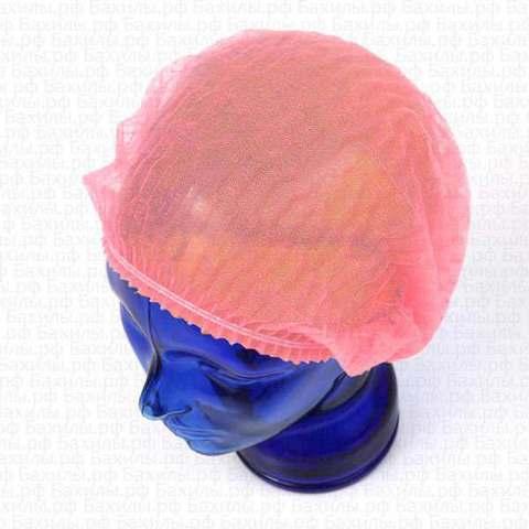 Медицинская шапочка Шарлотта розовая