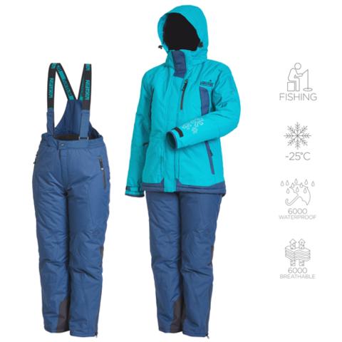 Костюм рыболовный зимний женский NORFIN Snowflake 2 04 р.XL