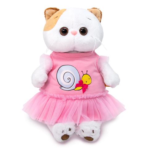 Кошечка Ли-Ли в платье с принтом