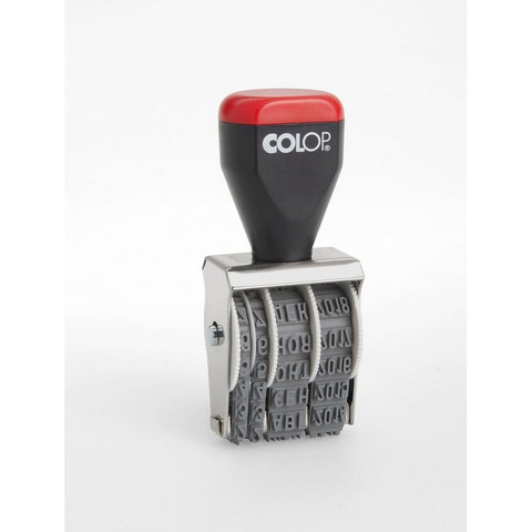 Датер ручной Colop 04000 (месяц обозначается буквами, 4 мм)
