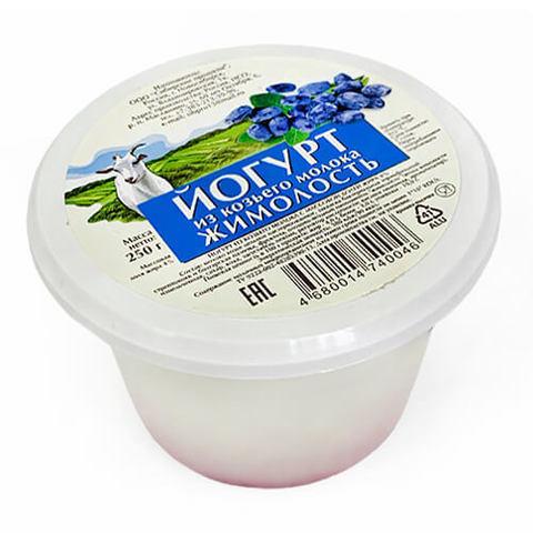 """Йогурт из козьего молока """"Сибирские продукты"""" жимолость 3,5% 250 г"""