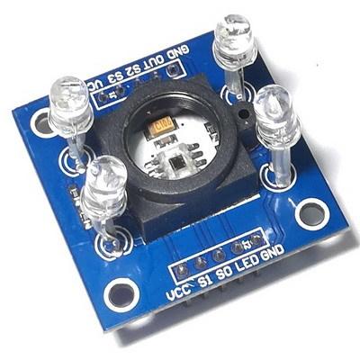 Датчик распознавания цвета GY-31TCS230 TCS3200