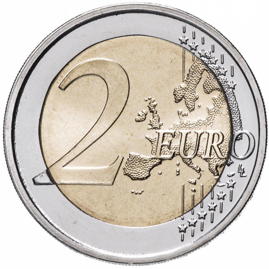 2 евро. 60-летие комиксов с Астериксом. Франция. 2019 год. В блистере №2