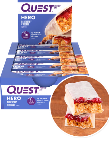 Quest Hero Bar 12шт