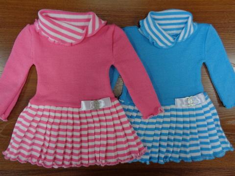 Платье вязаное д/девочки