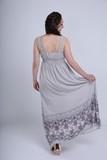 Платье для беременных 08722 бежевый